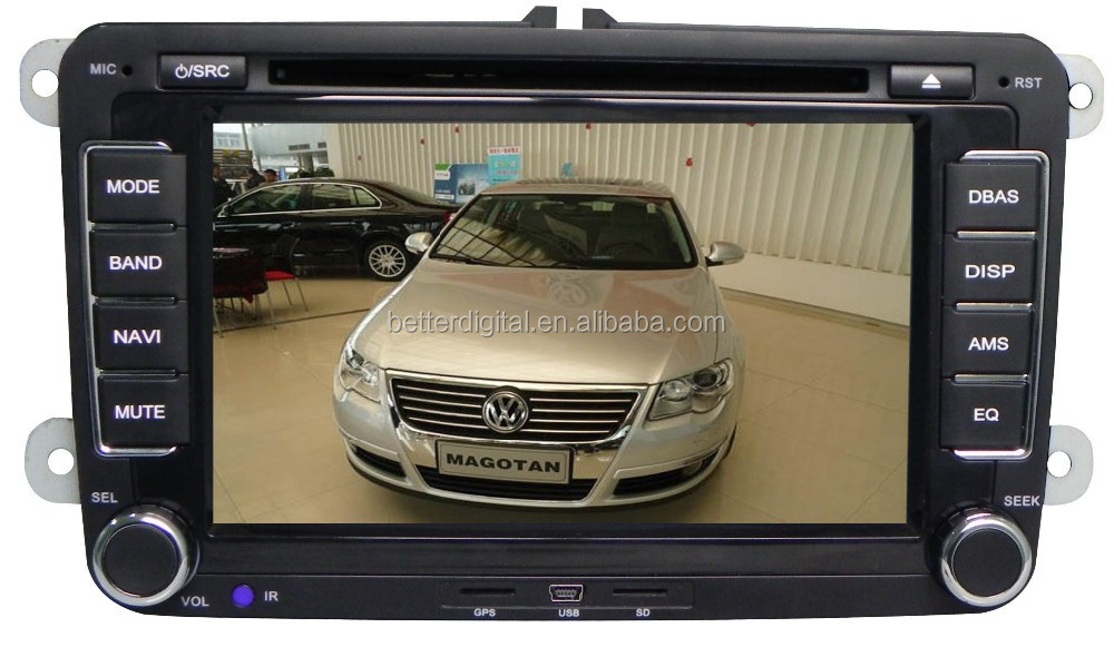 FOR Volkswagen passat b6 navigation system with CE and ROHS certificates