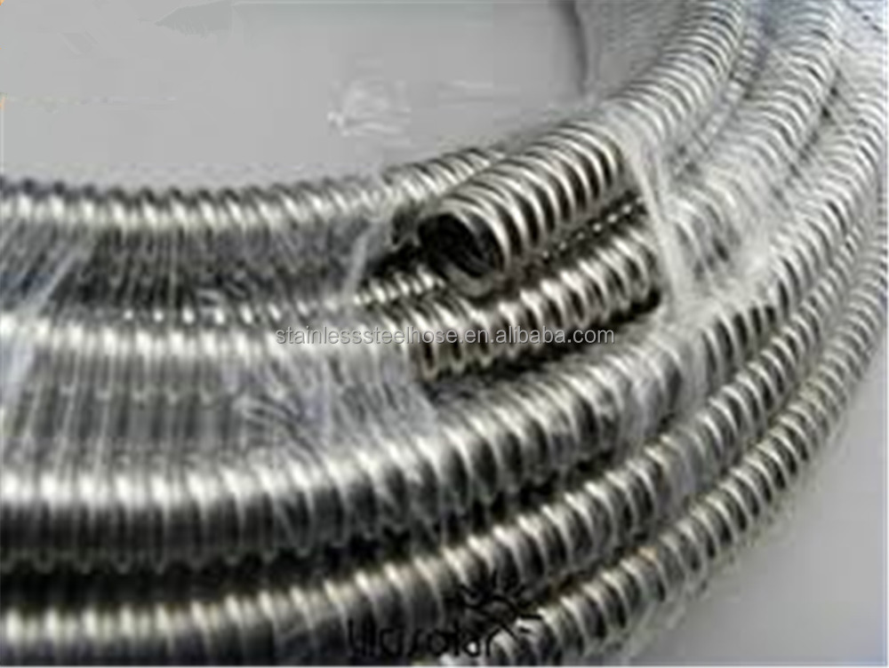 Hot Sale ! Flexible Stainless Steel Corrugated Metal Flexible Water Hose Pipe
