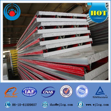low cost and high quality light weight prefab house wall panel and roof EPS sandwich panel