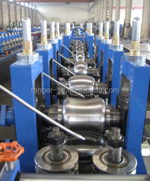 pipe mill for steel square welding pipe making machine
