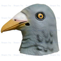 Hot Selling Items Online 2014 Adult Size Deluxe Quality Carnival Party Halloween Costume Rubber KING Original Pigeon Mask