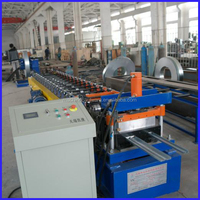 two three galvanized metal studs and tracks channel roll forming machine
