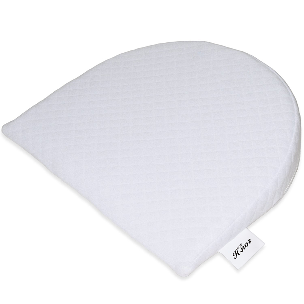 Comfort Acid Reflux Cotton Material And Wedge Shape Newborns Infant Sleep Bed Baby Foam Wedge Pillow For Hotel Home Bassinet