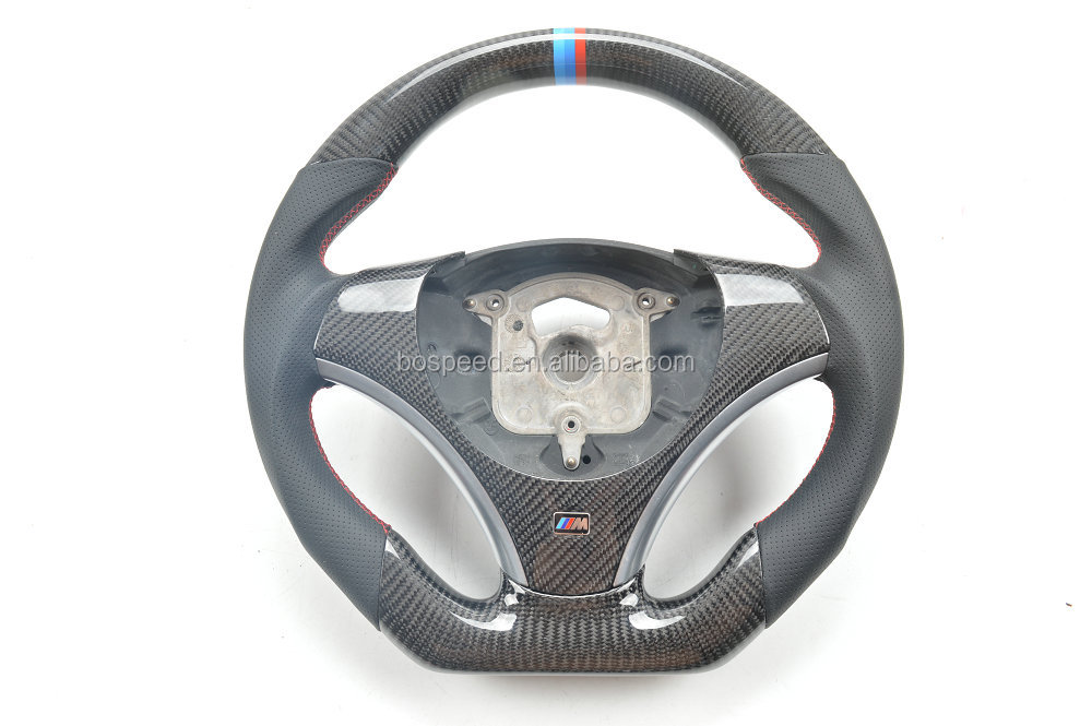 For BMW E90 E92 X5 X6 Carbon fiber steering wheel For BMW E90 E92