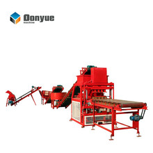 Linyi Dongyue machinery HBY4-10 fully automatic clay brick making machine price in india