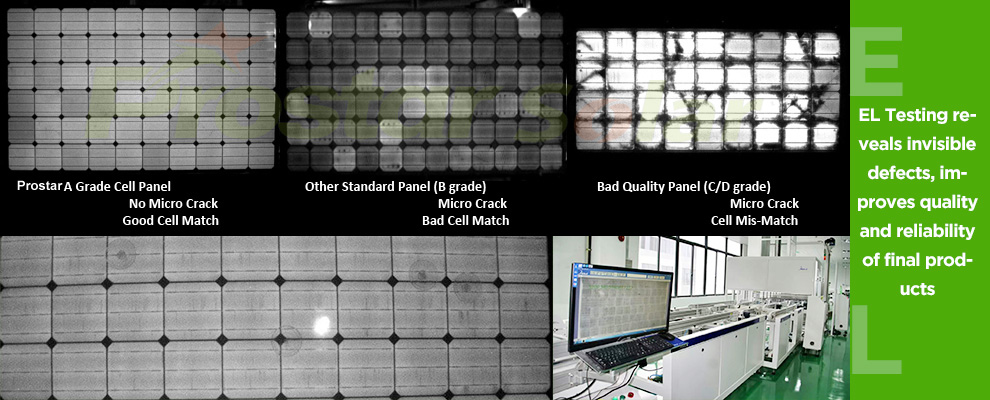 Prostar Solar Module EL Tester