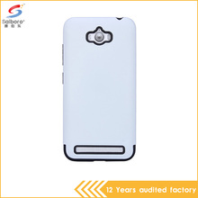 white color new design pc and tpu shockproof smart phone cover for asus zenfone max case
