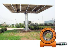 slewing bearing for solar tracking system