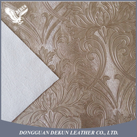 Hot selling newest design PVC decoration synthetic leather