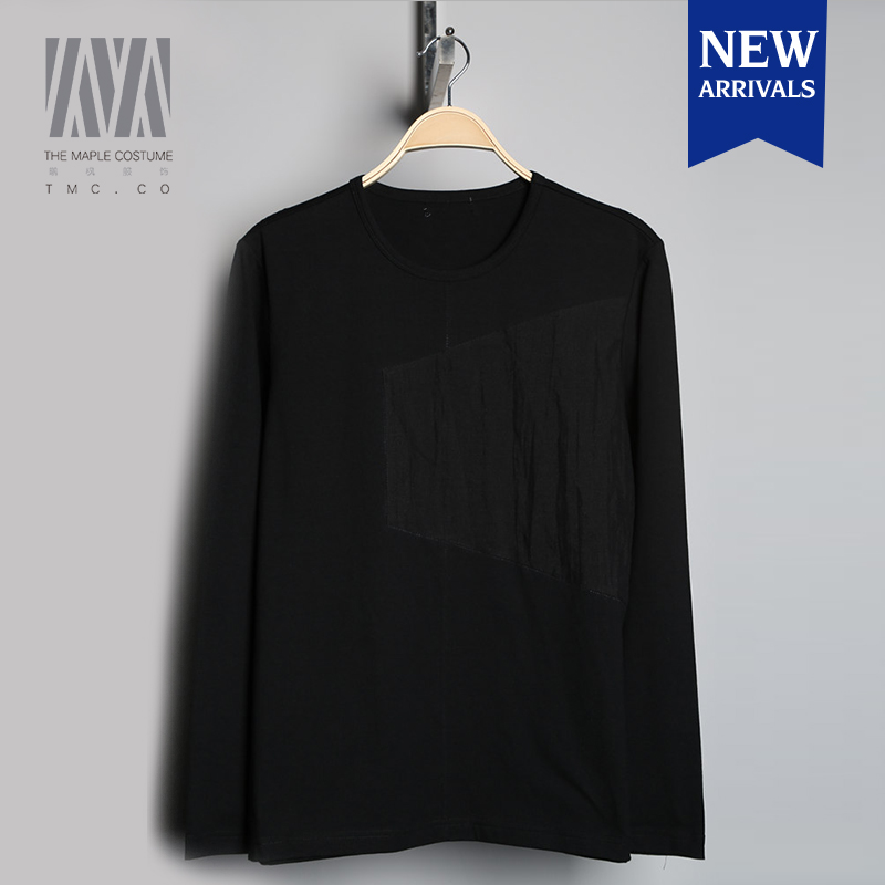 Promotional black overlapping colors t shirt with wholesale price,t shirt manufacturing