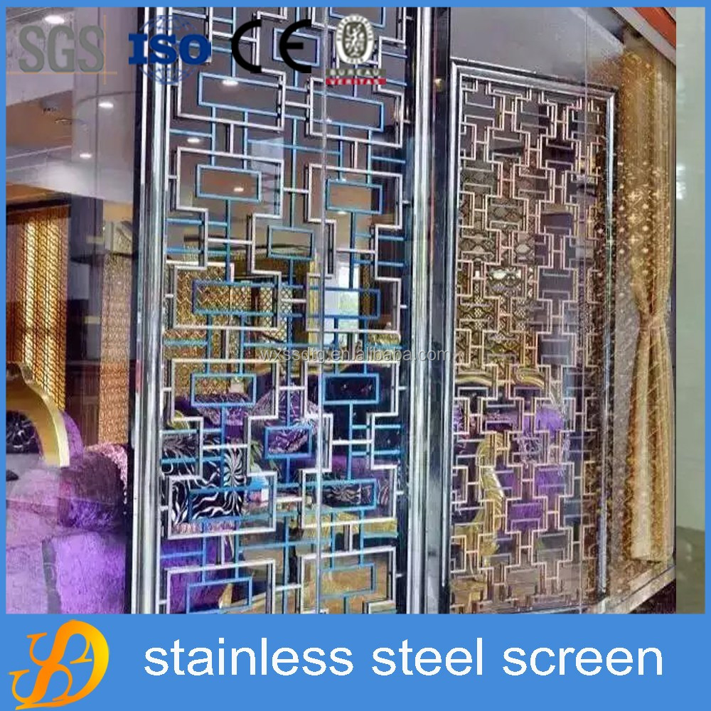 commercial used office partition wall stainless steel room dividers