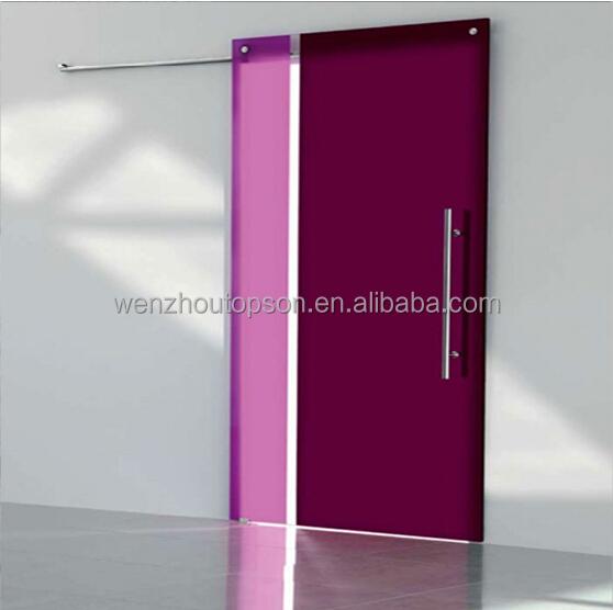 Sin marco puerta corredera de cristal y puertas correderas - Marco puerta corredera ...