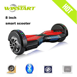 8 inch hands free electric scooter Electric longboard skateboard