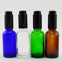 5ml 10ml oil dispenser glass bottle 5ml 10ml airless pump bottle 10ml glass bottle with lotion pump