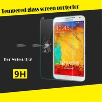 Hot tempered glass screen protector for Samsung galaxy note 3 N9006 paypal accept