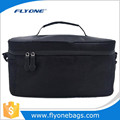 Lower price Black Aluminium foil promotional lunch cooler bags with double zippers
