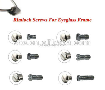 Glasses Frame Screw Sizes : Rimlock Screws, Eyeglass Screws, Optical Screws, View ...