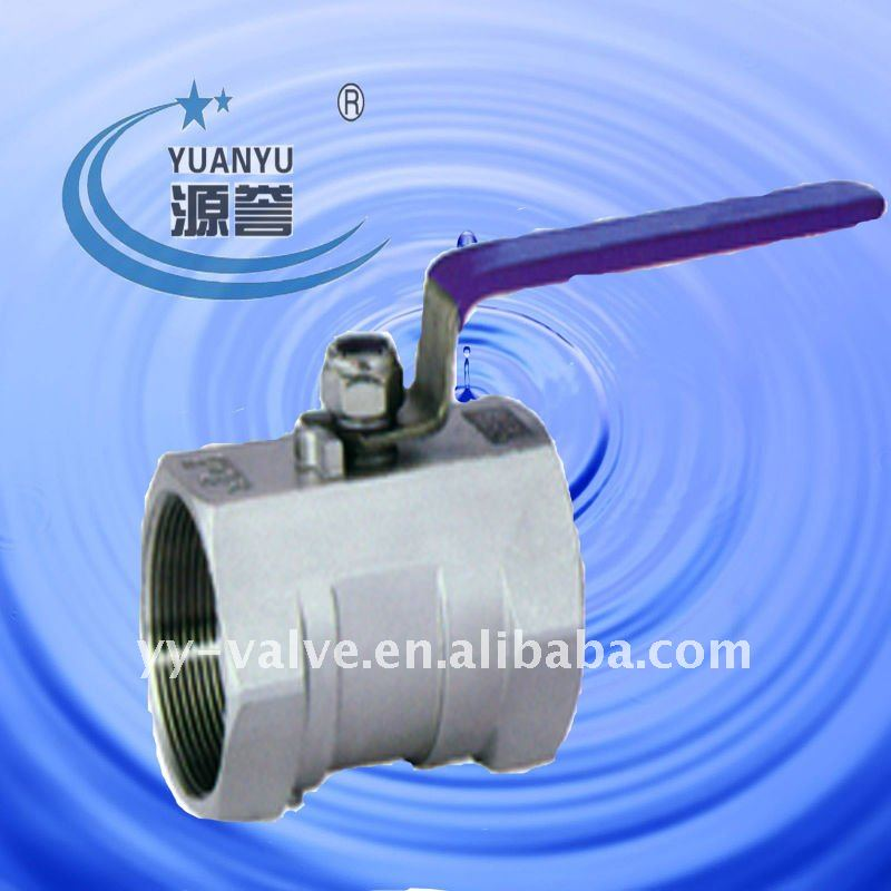 Sanirary stainless steel 1pc body ball valve