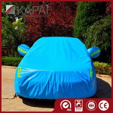 Sun Block Blue Inflatable Car Front Cover
