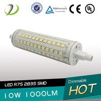 shenzhen manufacturer j118 10w dimmable r7s led 78mm