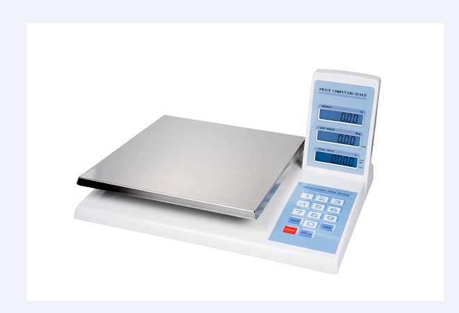 Nice design commercial electronic digital price computing weighing scale for supermarket