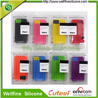 8 color silicone case for iphon 5c mobile phone case