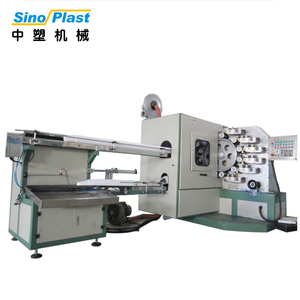 SINOPLAST High Quality Customized 9 Color Disposable Plastic Cup Commercial Printing Machine For Sale