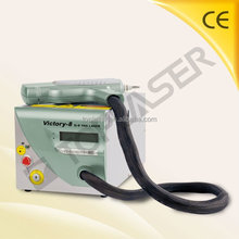 Facial Pigment and Tattoo Remover Medical Nd Yag Laser Equipment