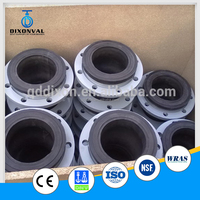 stainless steel flanged rubber pipe expansion joints