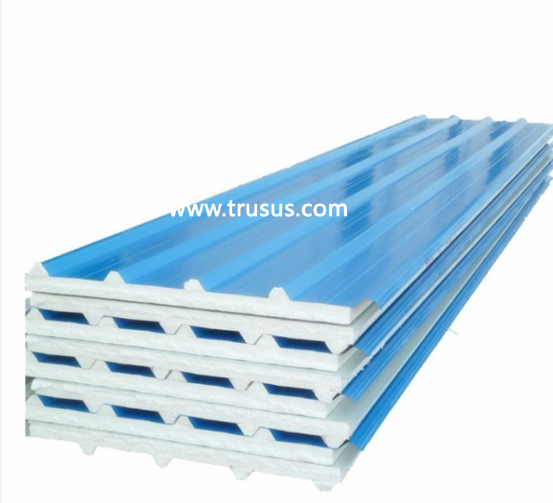 CE&ISO approved Refractory Partition Board Rock Wool Sandwich Wall Panel