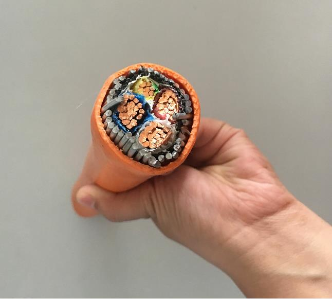 <strong>Copper</strong> Tape armoured power cable 4x70mm2