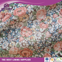 cheap lining fabric polyester/lining fabric wholesale/purse lining fabric