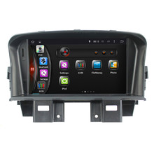 4-core android 4.4 touch screen auto radio car stereo dvd gps player navigation for Chevrolet cruze 2008-2011