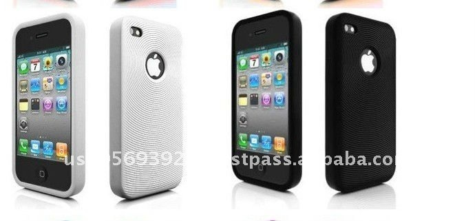 High quality silicone case for iphone4&iphone4S