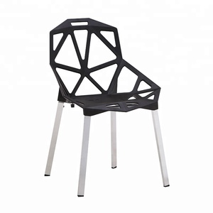outdoor restaurant furniture European style plastic dining chair