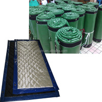 noise absorbing material temporary acoustic barrier for road