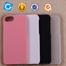 2017 New 3D sublimation printing Factory Price PC Rubber Coating Hard Cover For iPhone 7 Case