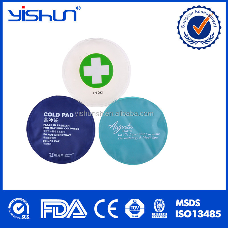 Nylon+PVC Wholesale High Quality Reusable Nylon PVC Material Hot Cold Gel Pack