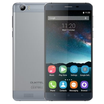 High Quality OUKITEL K6000, 6000mAh Large Battery Capacity, 5.5 inch Android 5.1 MTK6735P Quad Core 4g Smartphone