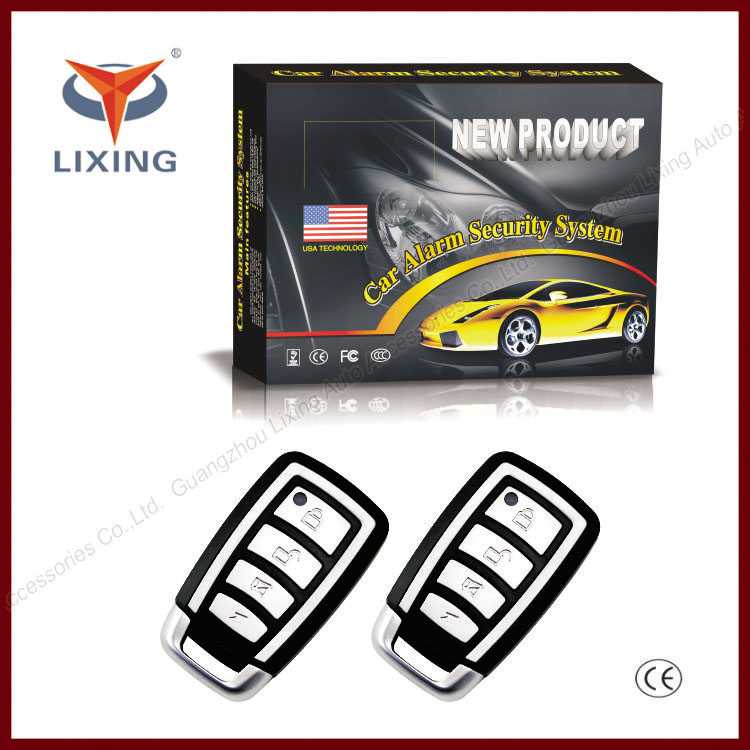 Lixing OEM factory pandora vehicle security system with central door locking remote trunk release