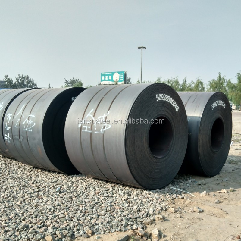 hot rolled standard steel coil sizes