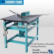 Photo frame corner cutting machine