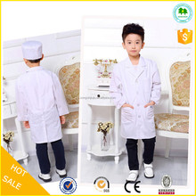 Popular lab coats wholesale for children, children uniforms lab coats, doctor coats for kids