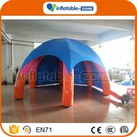 Bottom price led inflatable dome tent inflatable tent for kids