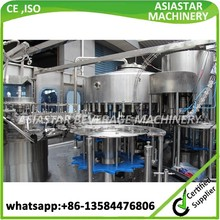 Fully automatic rotary battery acid mineral water filling machine