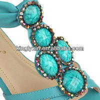 Fashion Shoe Accessory 2014 Ladies Sandal