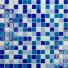 blue crystal glass mosaic tile cheap swimming pool cover price