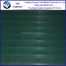 anti-climb 358 security prison mesh/welded panel 358 fence for sale