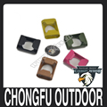 Various colors alloy bottle opener for paracord bracelet