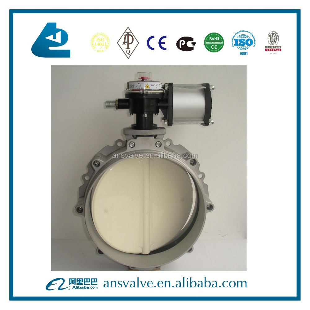 Aluminum Body Butterfly Valve For Cement